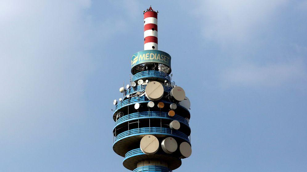 Foto: Torre de Mediaset en Milán, Italia. (Reuters)