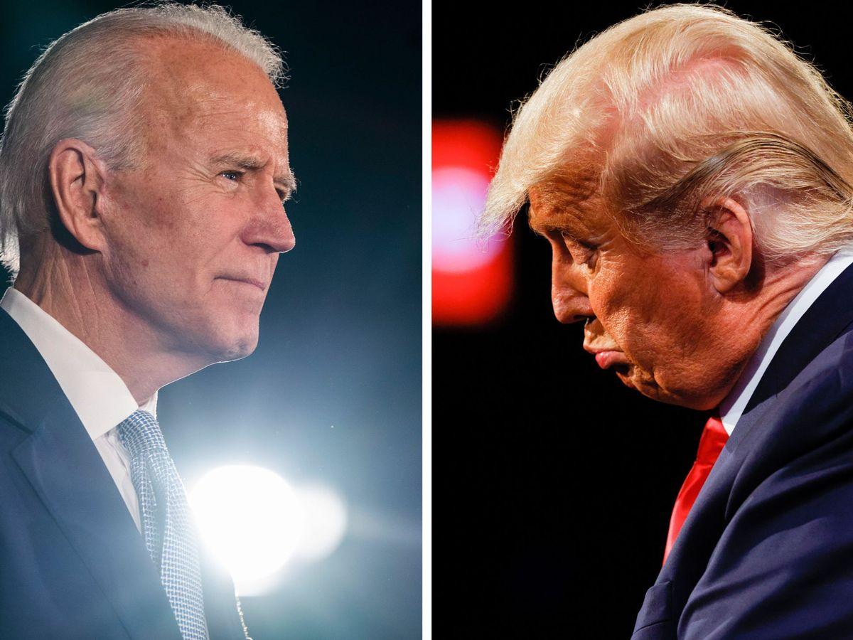 Foto: Media report biden wins 2020 us presidential election