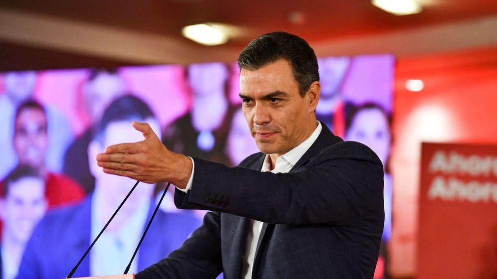 Foto: El presidente del Gobierno en funciones, Pedro Sánchez, en un acto en Granada. (EFE)