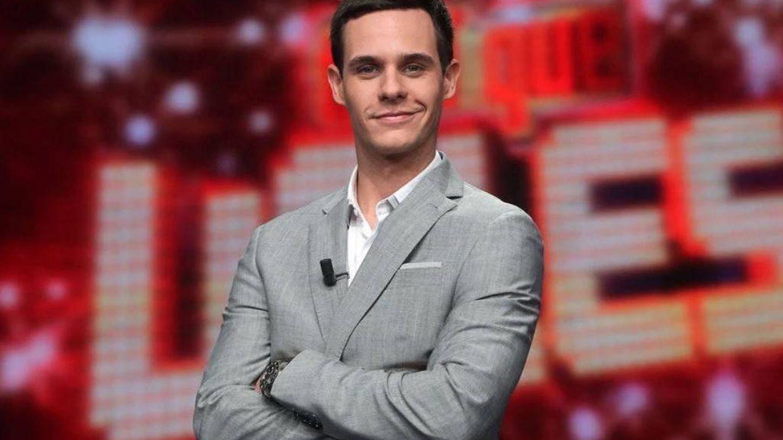 El presentador Christian Gálvez, en 'Tú sí que vales'. (Mediaset)