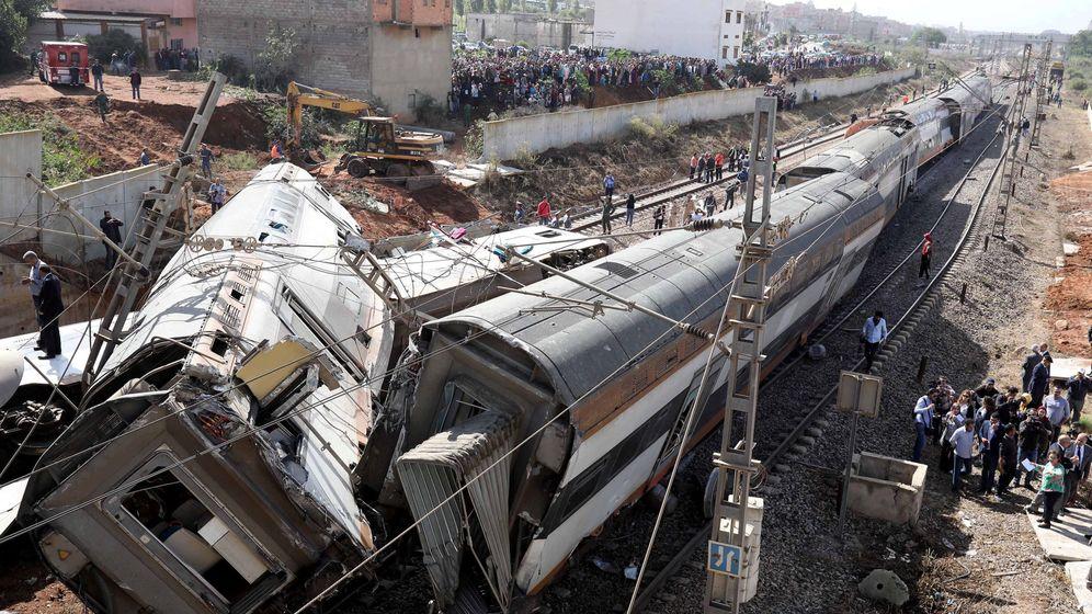 Foto: Estado en el que ha quedado el tren. (Reuters)