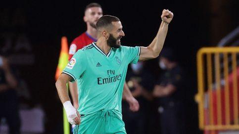 El Real Madrid pasa de la brillantez a los apuros en Granada y ya atisba la Liga (1-2)