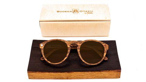 Las nuevas gafas artesanas de Bodega Otazu y Laveta Eyewear