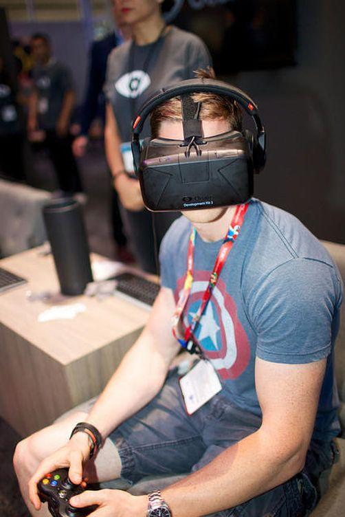 Foto: Gafas de realidad virtual en el E3 2015. (D.M.)