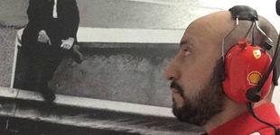 Post de La frialdad de Raikkonen con Francesco Cigarini, el mecánico herido de Ferrari