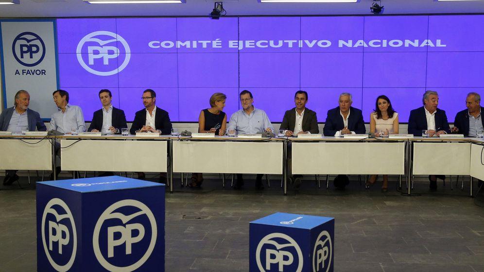 Foto: Reunión del Partido Popular. (Efe)
