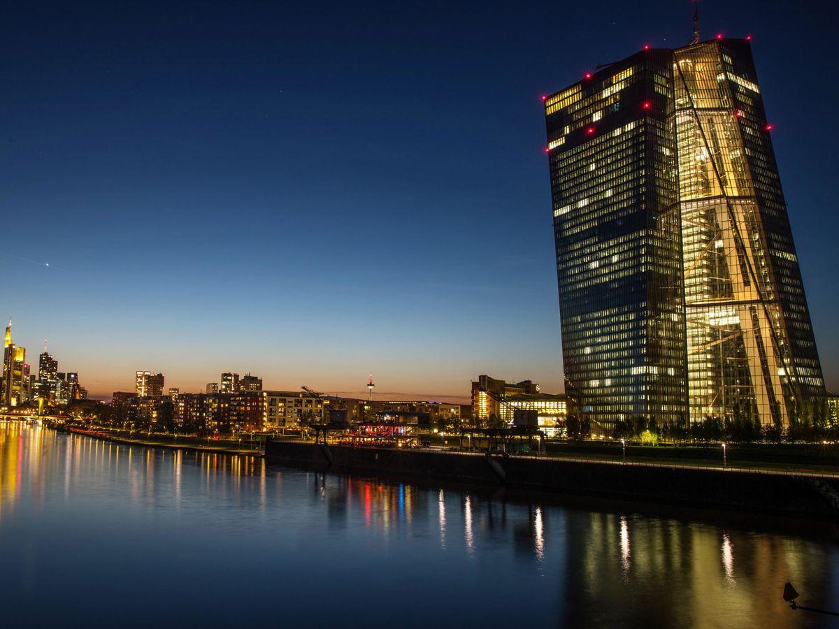 Foto: Banco Central Europeo (BCE). (Reuters)