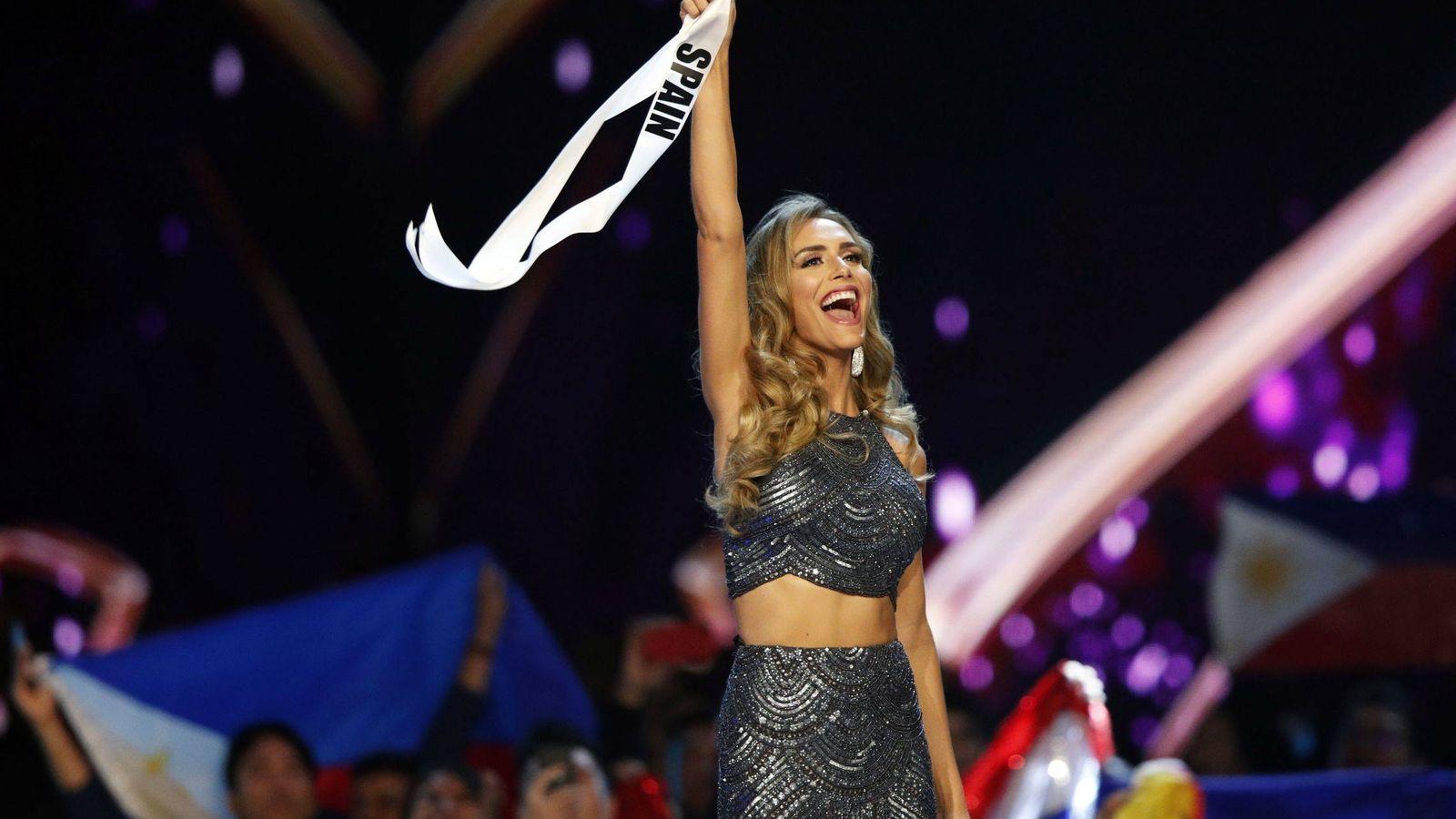 Foto:  Ángela, en Miss Universo 2018. (EFE)
