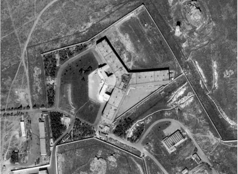 Foto: La prisión siria de Sednaya. (Amnistía Internacional)
