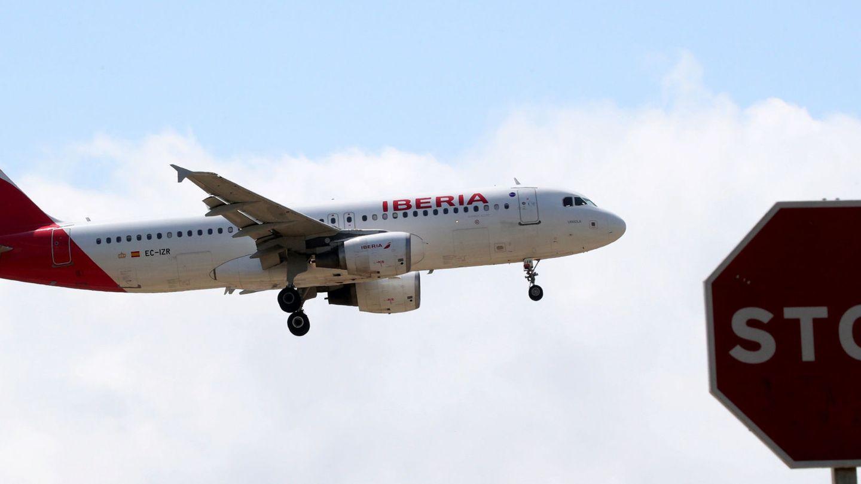 Avión de Iberia. (Reuters)