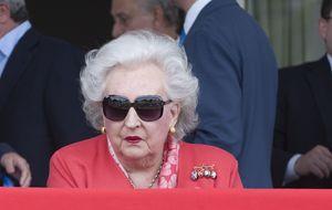 Pilar de Borbón sobre la situación de su sobrina: Creo en la justicia