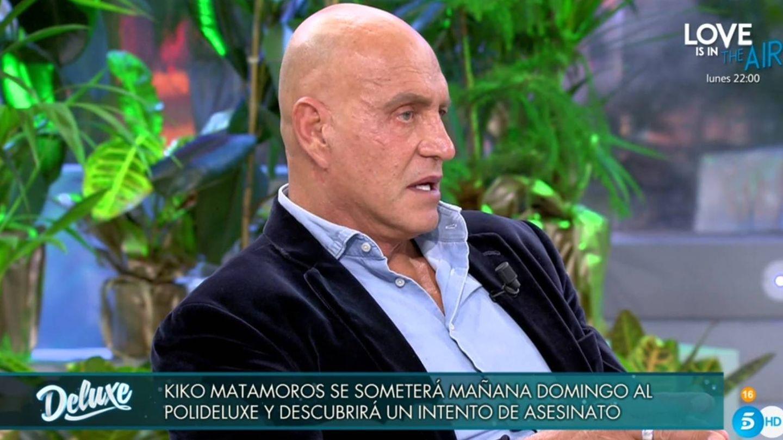 Matamoros, en el 'Deluxe'. (Telecinco).