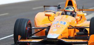 Post de Alonso marca el decimonoveno mejor tiempo en su primer día en Indianápolis