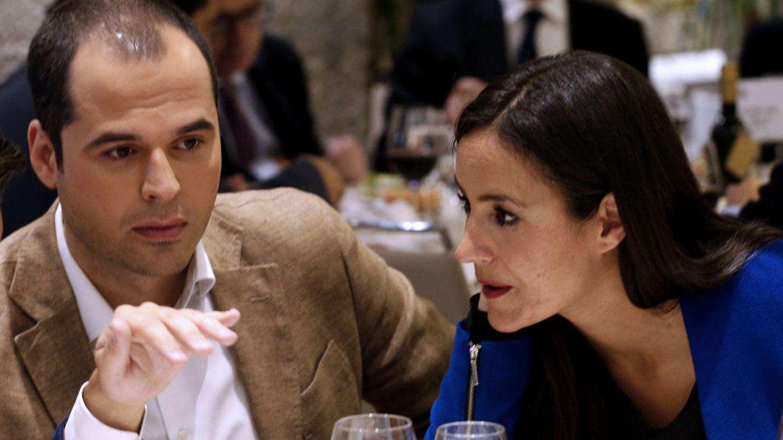 Ignacio Aguado y Begoña Villacís, de Cs, el 30 de mayo de 2016 en Madrid. (EFE)