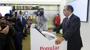 Ángel Ron saca una web personal para glosar sus méritos al frente del Popular