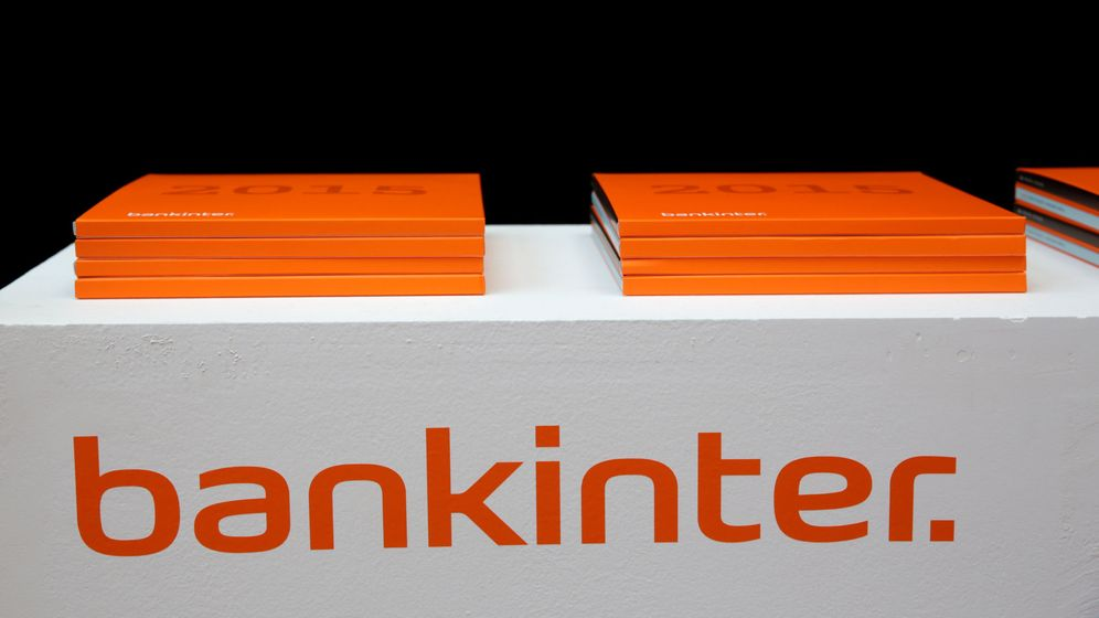Foto: Carpetas de Bankinter. (Reuters)