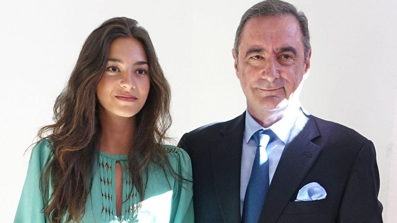 Foto: Carlos Herrera con su hija Rocío en una imagen de 2014 (Gtres)