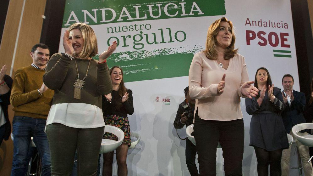 Foto: La presidenta andaluza y secretaria general del PSOE-A, Susana Díaz. (EFE)