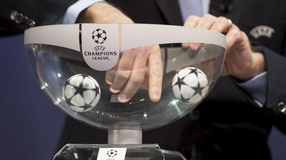 Foto: Sorteo de la Champions. (EFE)