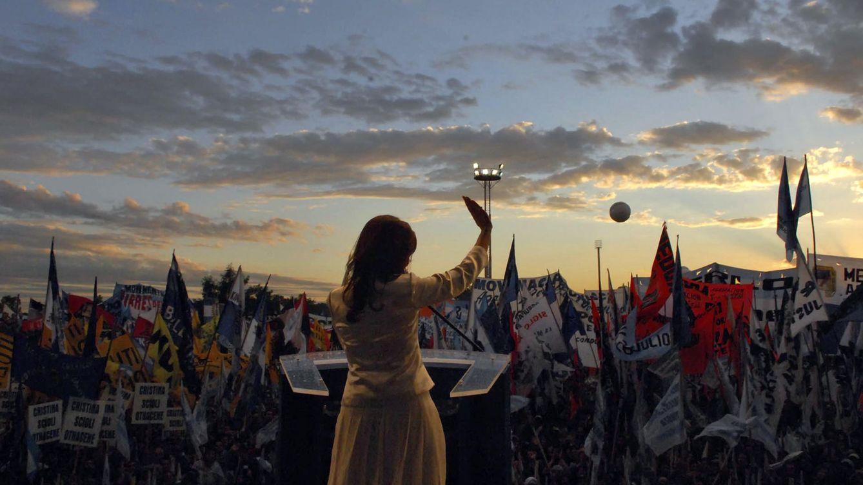 Foto: Cristina Fernández de Kirchner durante un mitin en Buenos Aires. (Reuters)