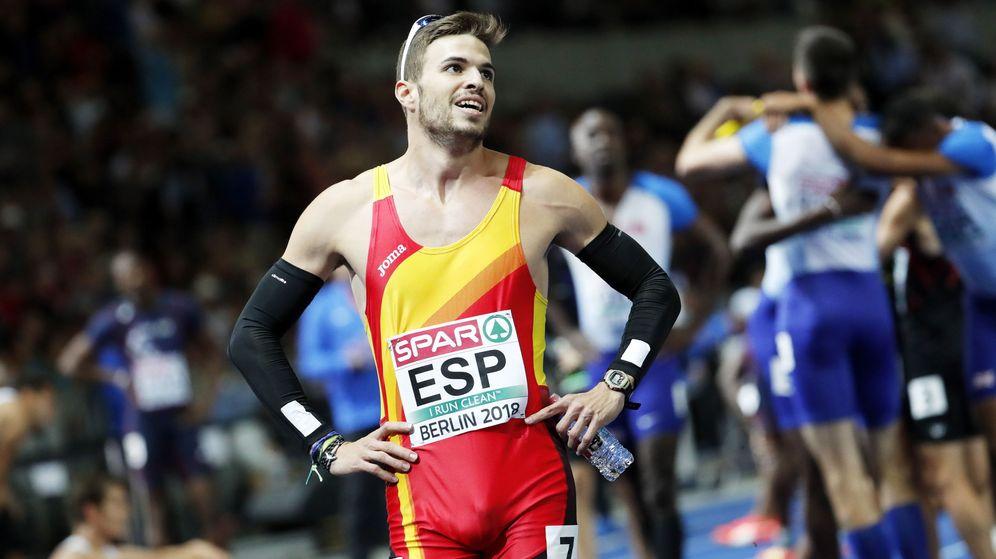 Foto: Óscar Husillos, uno de los mejores velocistas en la historia de España, estará en Qatar. (EFE)