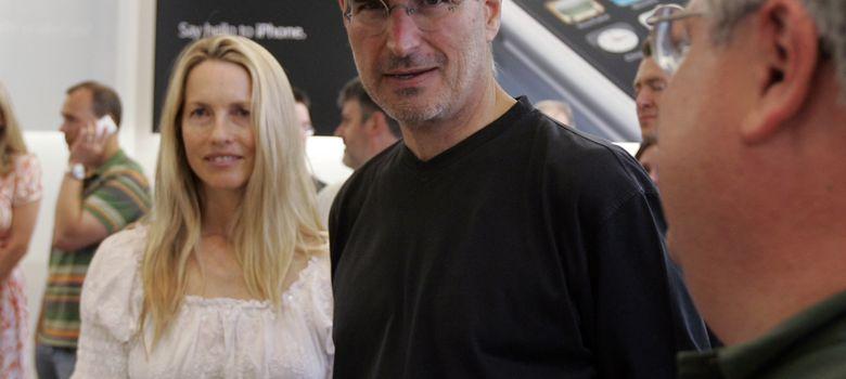 Foto: Steve Jobs y Laurene Powell en 2007. (I.C.)