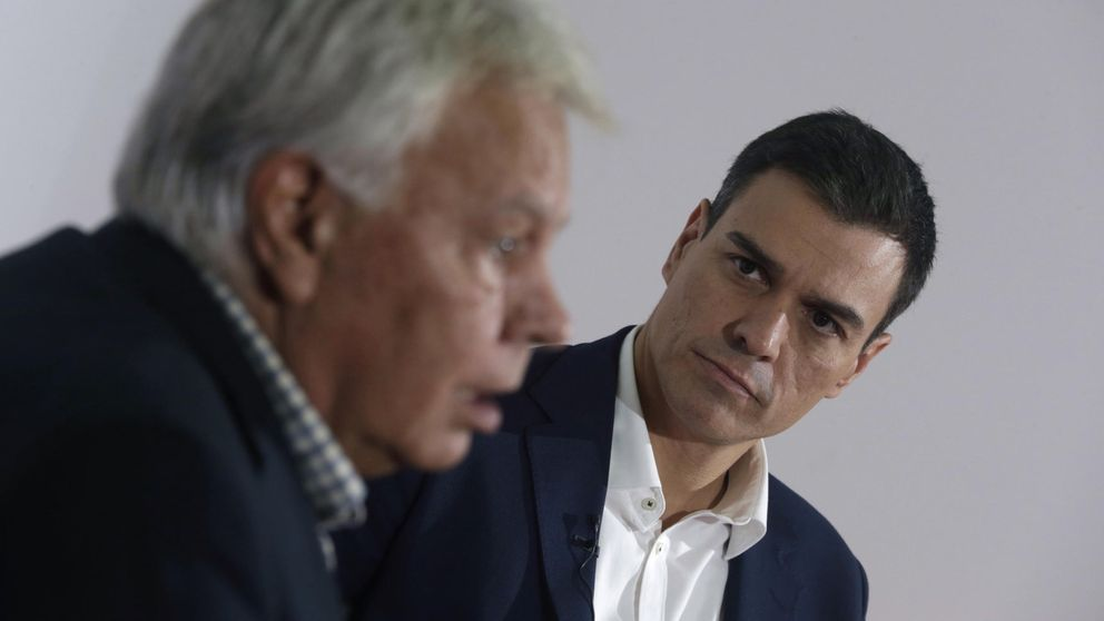 Las frases de Felipe González: Sánchez pelea por ser más grande que Podemos
