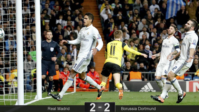 Foto: Reus anotó el empate a dos definitivo. (JuanJo Martín/EFE)