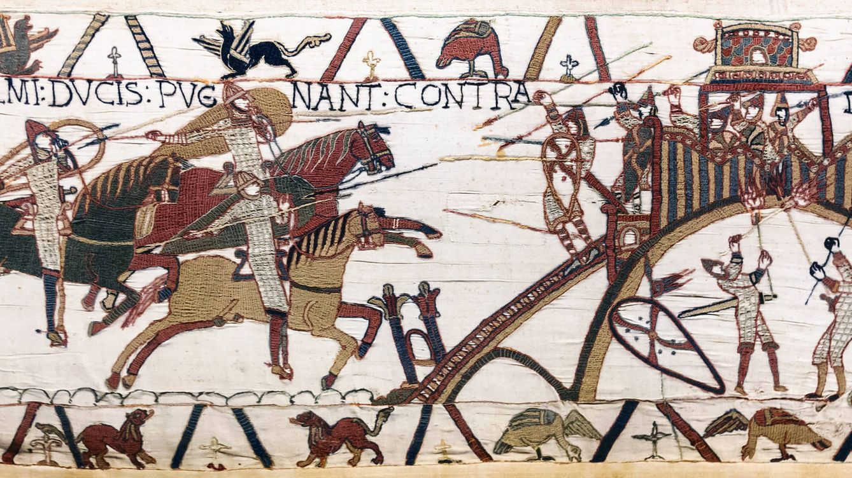 Historia el d a que pamplona ardi por los cuatro - Qu est ce que la tapisserie de bayeux ...