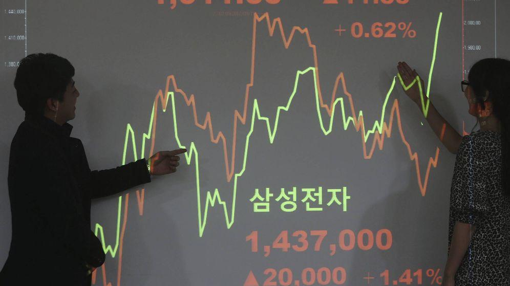 Foto: Bolsa de Corea del Sur (Efe)
