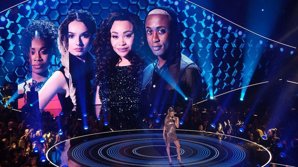 Foto: 'The Four', el exitoso formato musical. (Fox)
