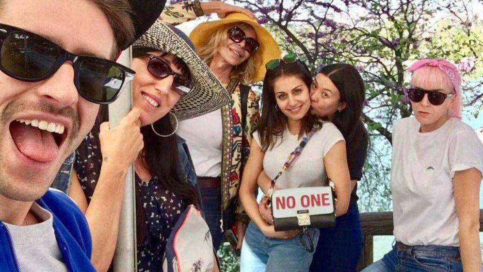 Foto: Los amigos de David Delfín se van a la Casa de Campo. (Instagram)