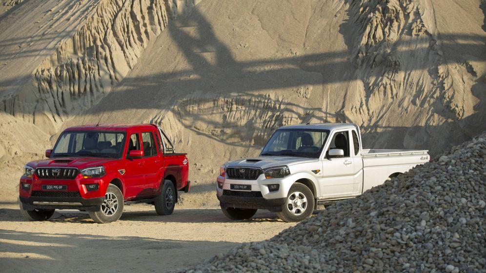 Foto: El Mahindra Goa Pik-Up se ofrece con carrocerías de cabina sencilla o doble y 140 caballos de potencia.