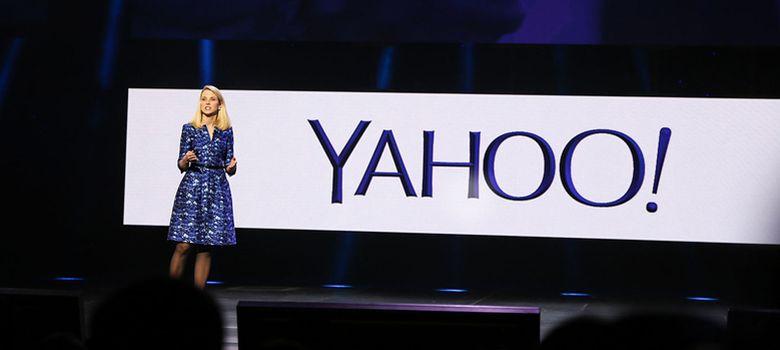 Foto: Marissa Mayer, CEO de Yahoo, durante su intervención en el CES 2014