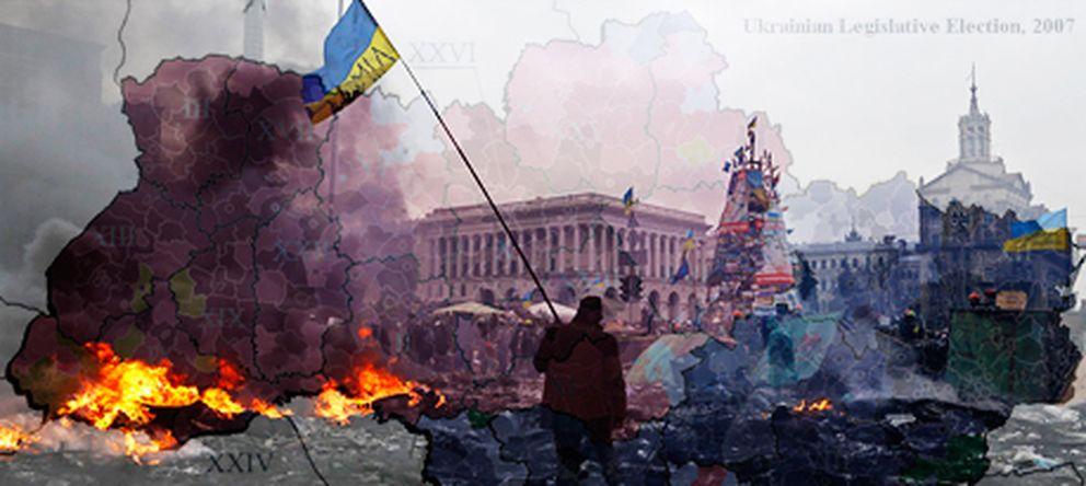 Foto: Cinco mapas para entender lo que está ocurriendo en Ucrania