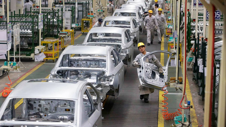 Foto: Una cadena de montaje de Citroën. (Reuters)