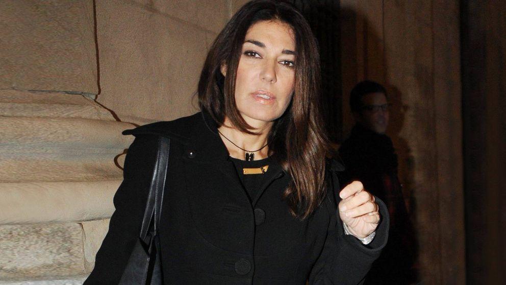 Raquel Revuelta, desolada por la inesperada muerte del padre de sus hijos