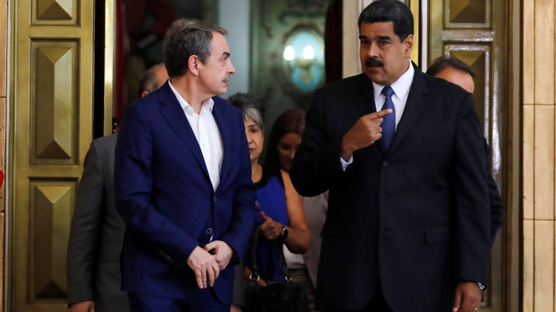 Zapatero, el 'príncipe' de Delcy, tras el caso Ábalos: el antichavismo tiene su teoría