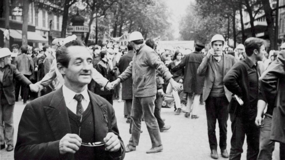 Foto: Manifestación en París en mayo de 1968. (EFE)