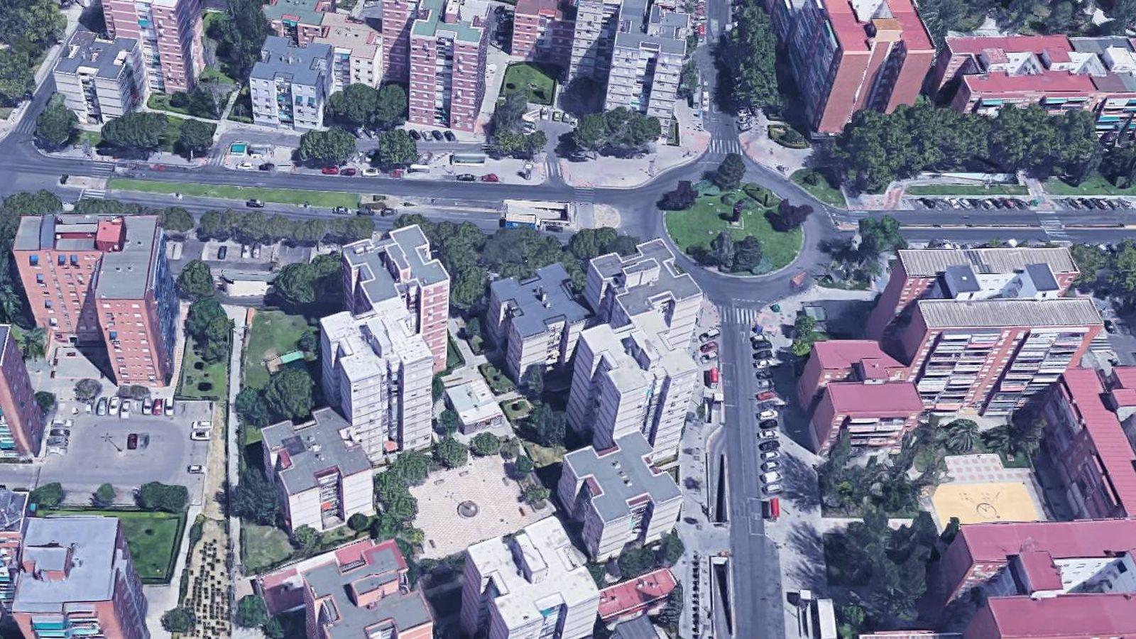 Foto: Vista aérea de la Avenira Juan Carlos I de Leganés