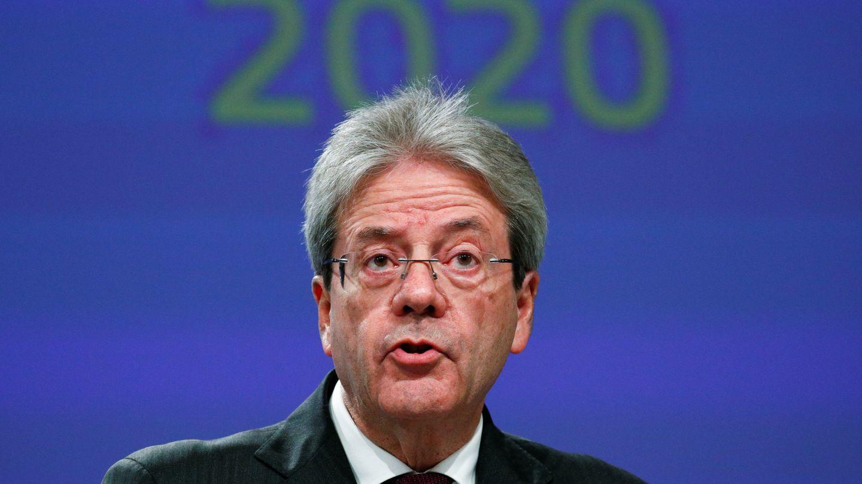 Paolo Gentiloni, comisario de Economía. (Reuters)