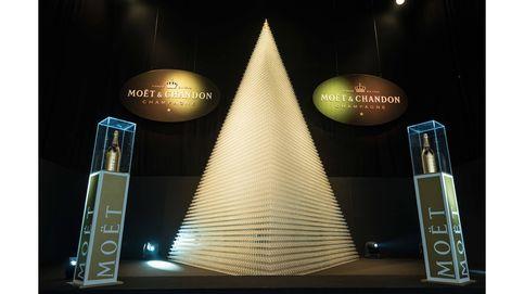 El record Guinness de Moët & Chandon