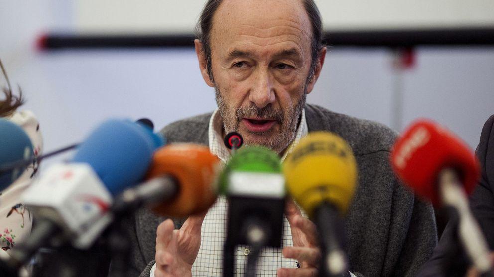 Rubalcaba: Puigdemont no puede ser presidente y el Estado pagará el coste