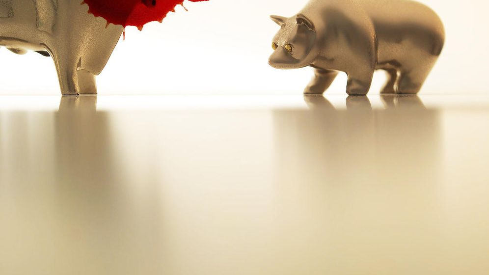 Foto: El toro gana, el oso gana... y el pollo se desangra