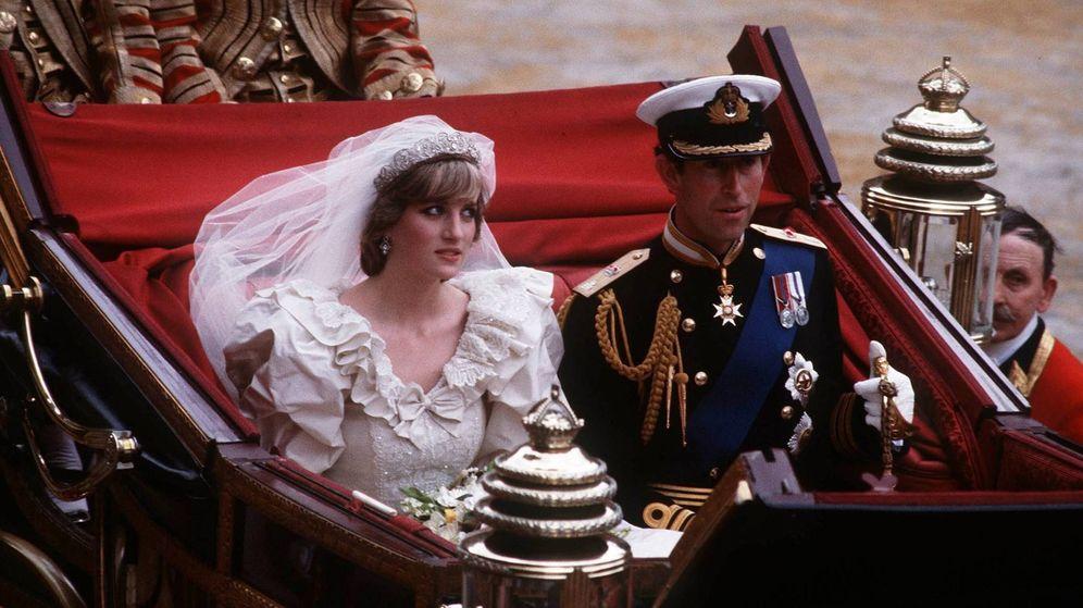 Foto: Diana y Carlos el día de su boda. (Cordon Press)