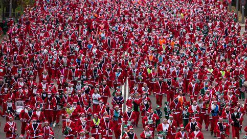 Carrera de Papá Noel en Madrid