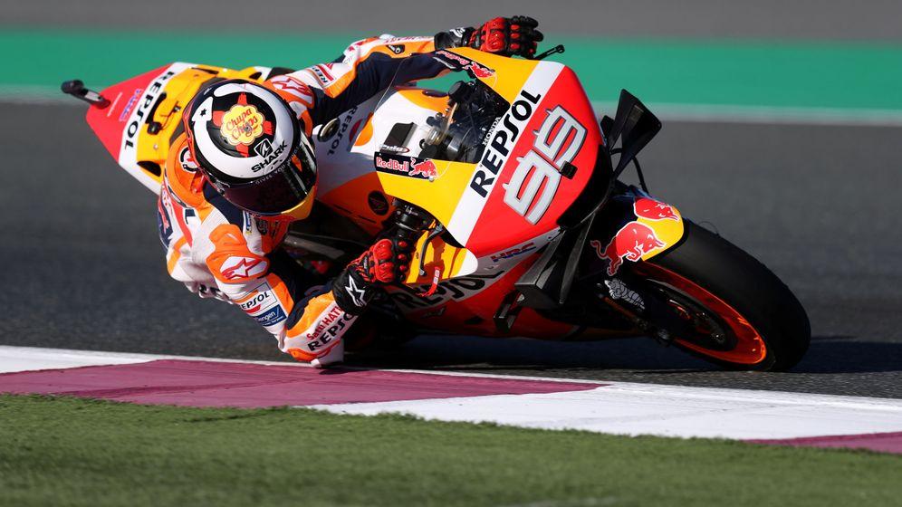 Foto: Jorge Lorenzo, en el GP de Qatar. (EFE)