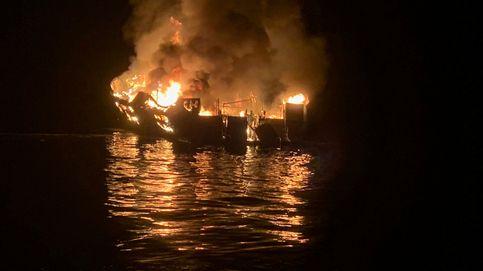 Cuatro muertos y 29 desaparecidos tras el incendio de un barco en California