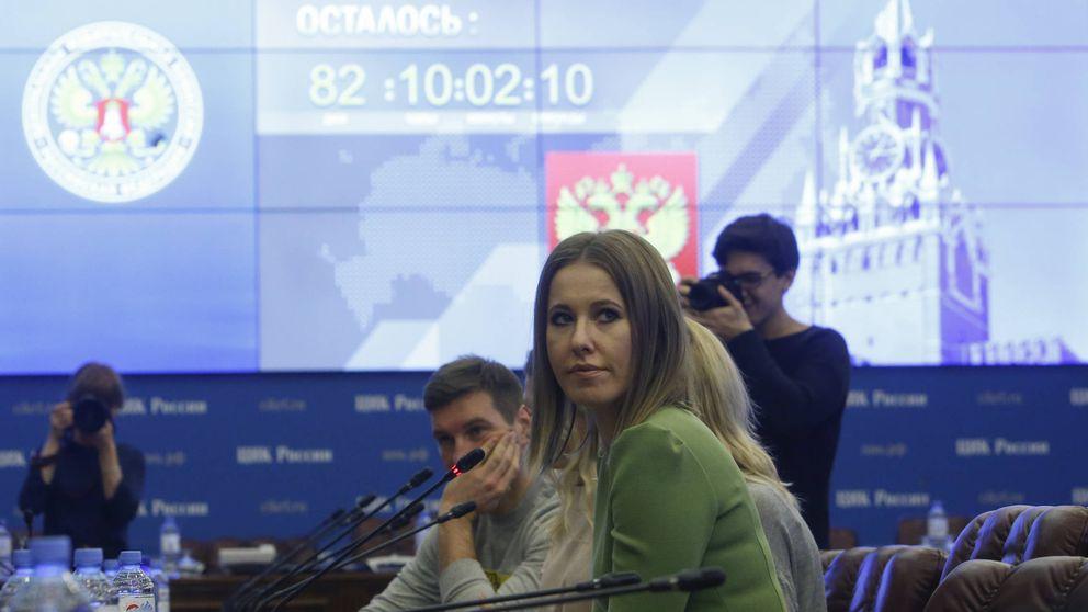 Un empresario comunista y una opositora 'marca Putin' animan la campaña rusa