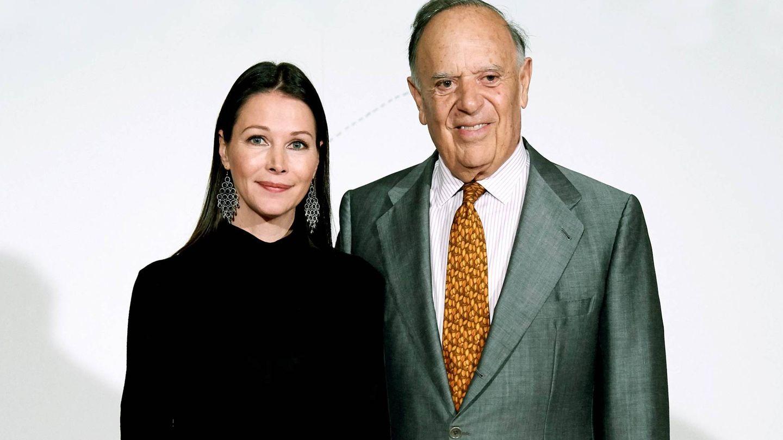 Esther Doña y Carlos Falcó. (Getty)